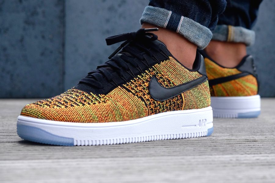 air force 1 homme orange